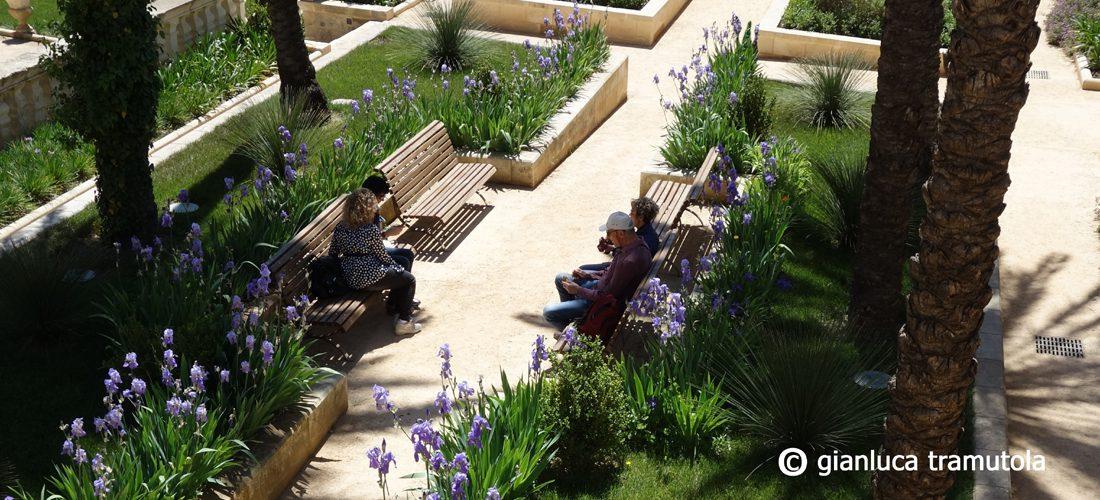 giardino palazzo giaconia lecce