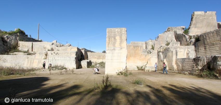 stone quarry cursi landscape paesaggio pietra