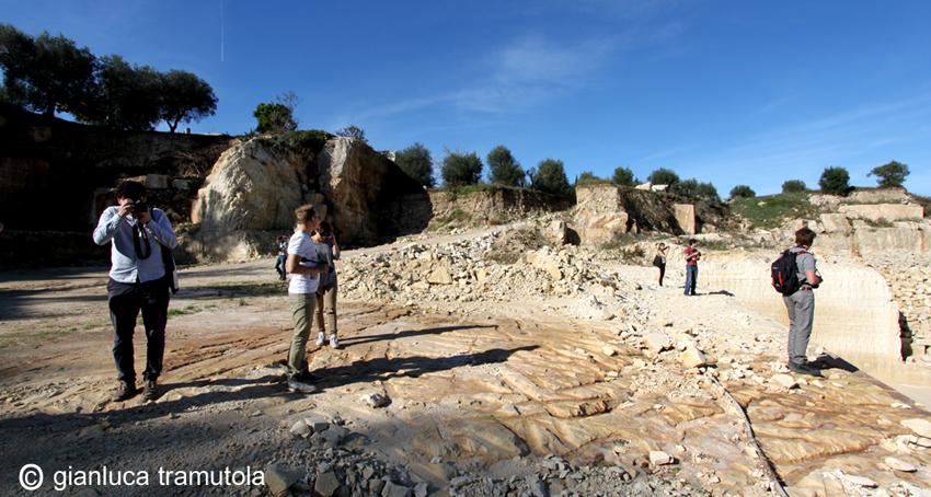 dominio della pietra cave paesaggio