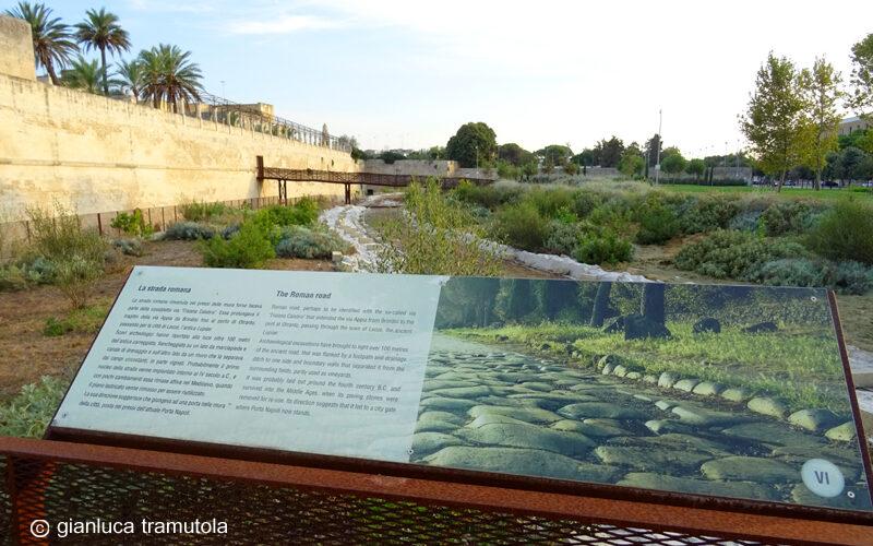 strada romana parco delle mura Lecce Gianluca Tramutola